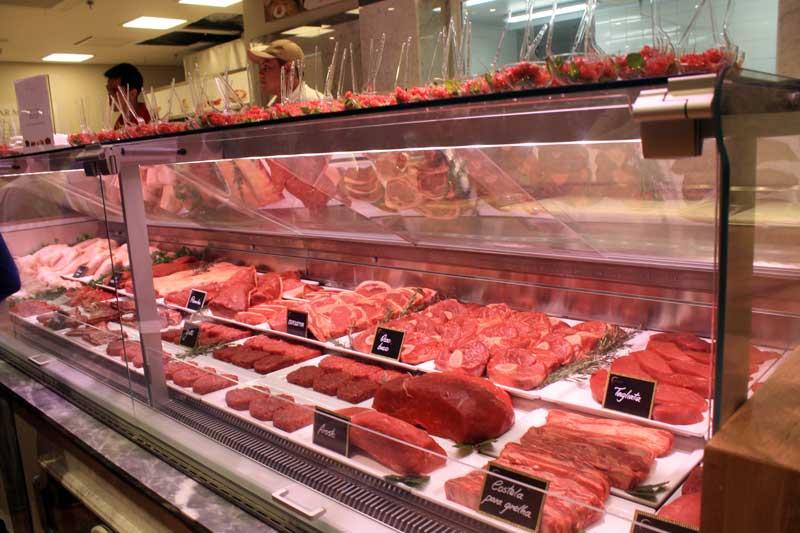 O açougue do Nataly, o La Macelleria vende carnes vindas de animais que pastam livremente, vivendo de forma sustentável.