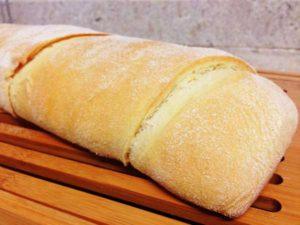 Pão de Semolina do Frango Assado